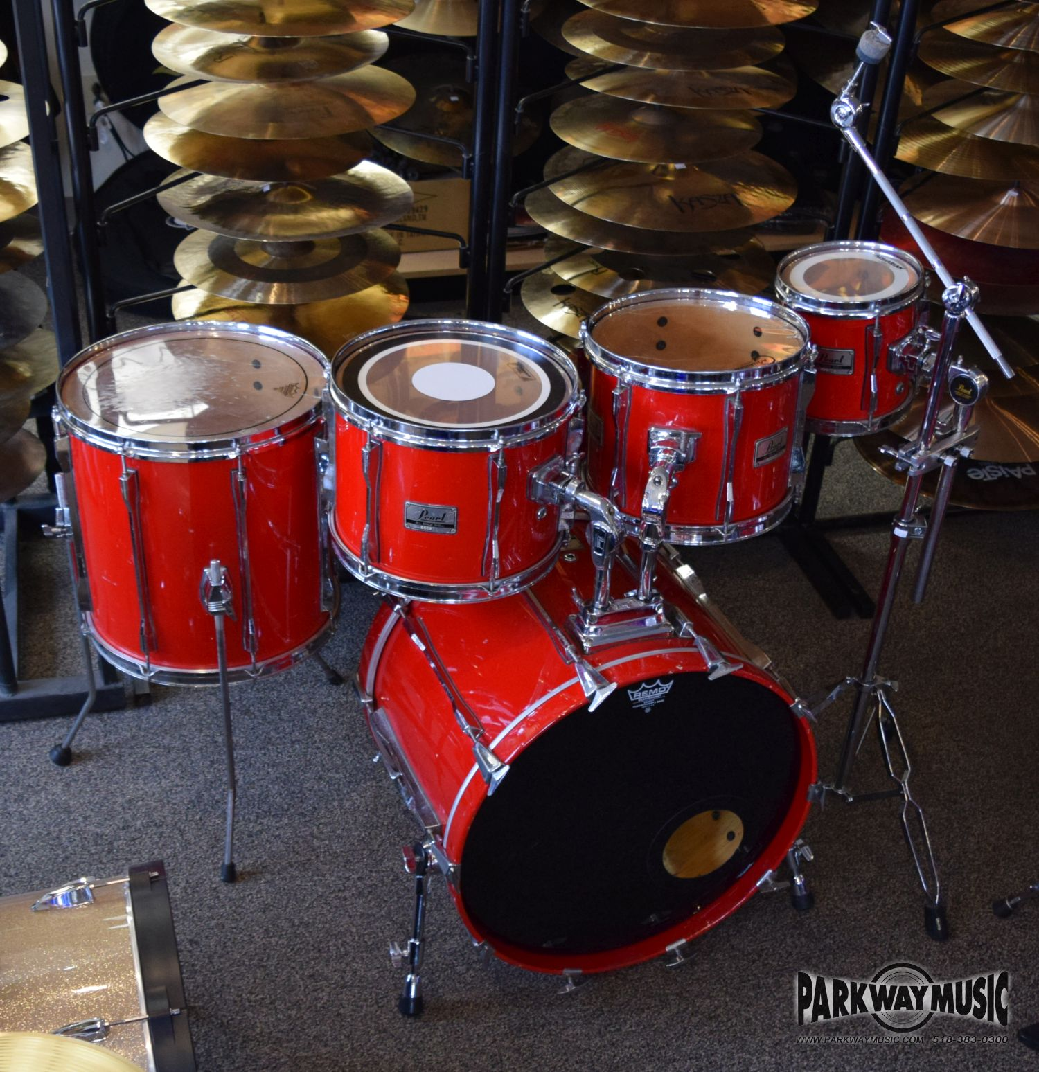 Pearl All Birch 6pc Drum Set (USED)