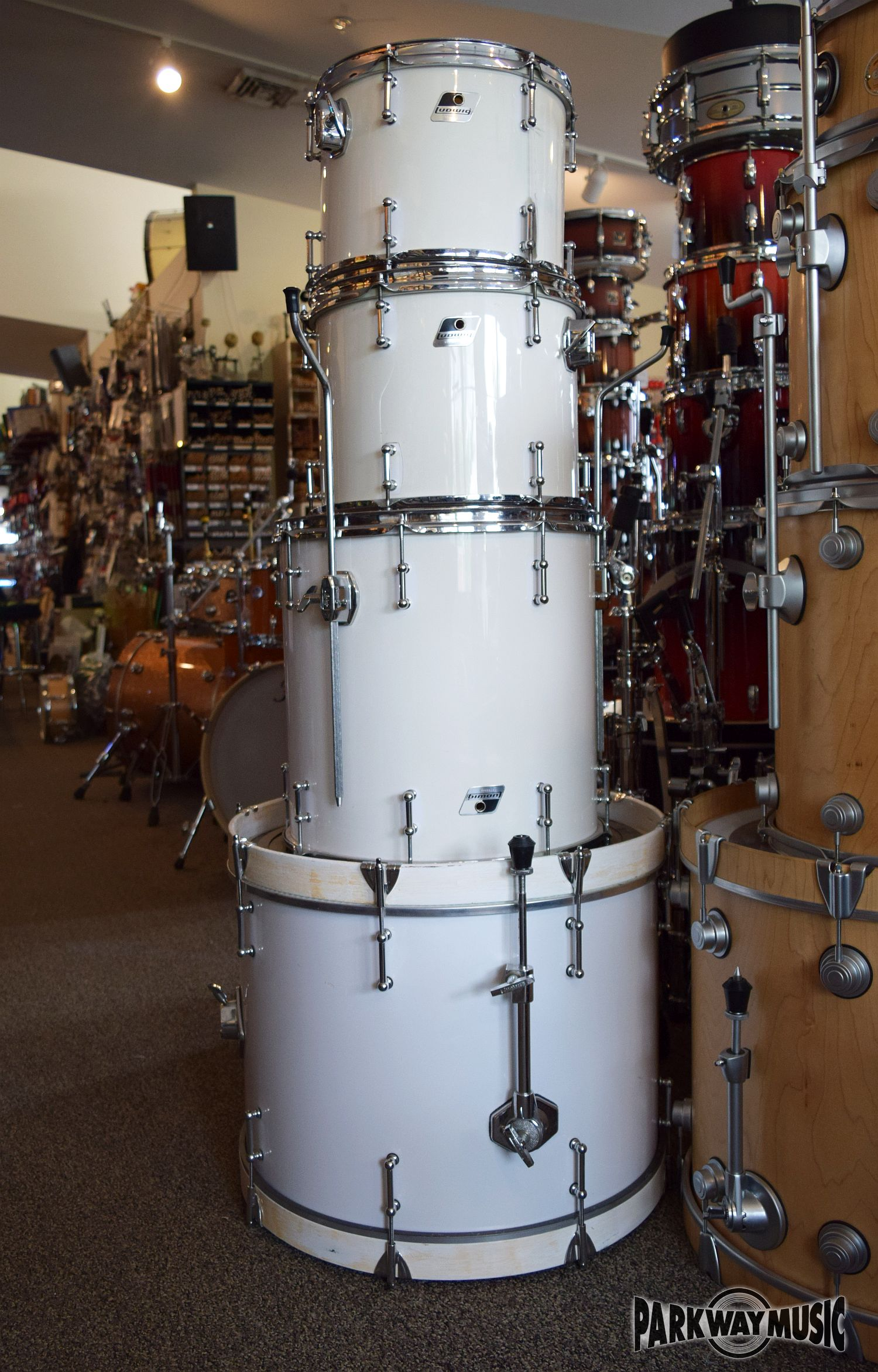 Ludwig Rocker Drum Set (USED)