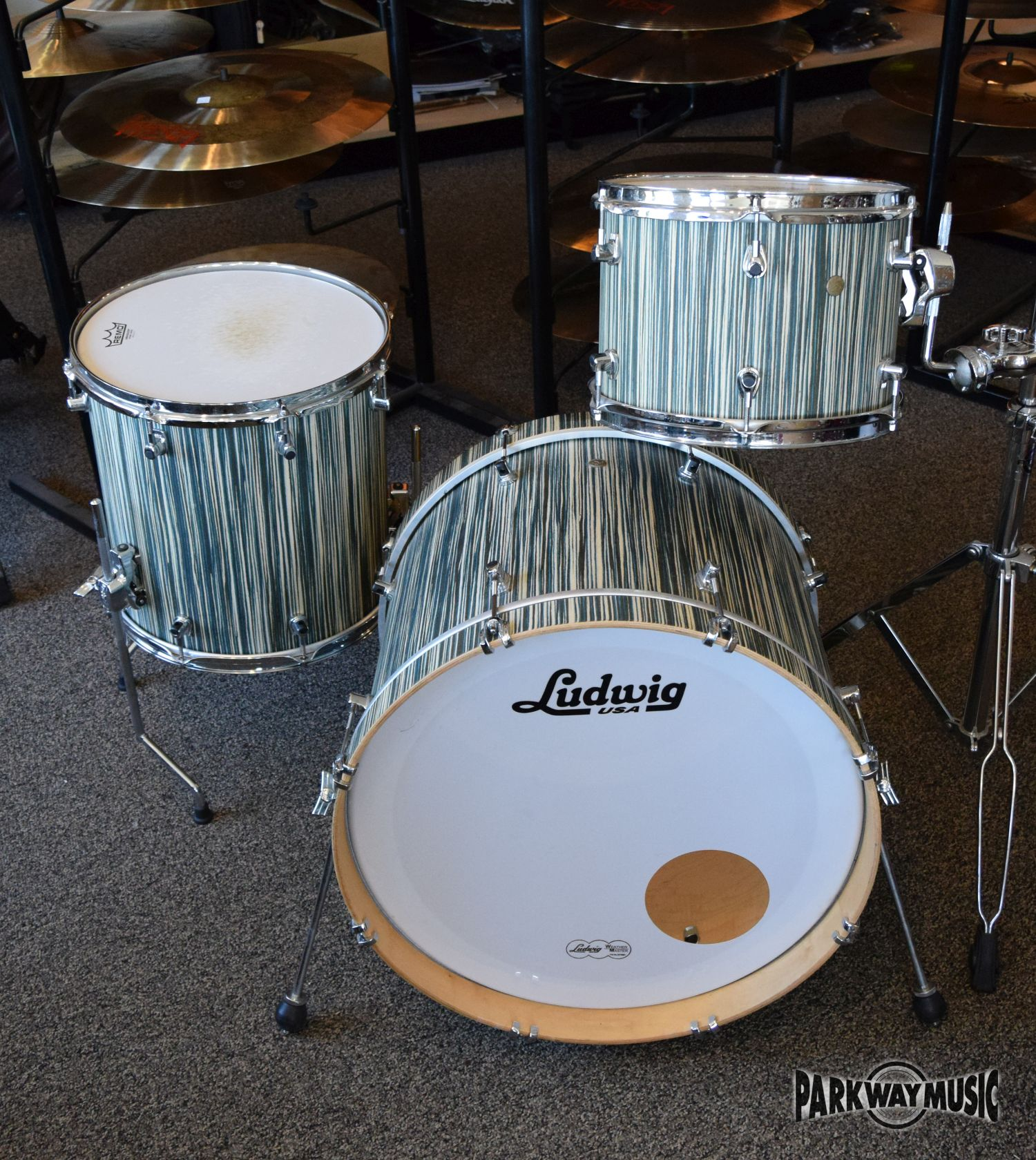 Ludwig Signet 3pc Drum Set (USED) SOLD