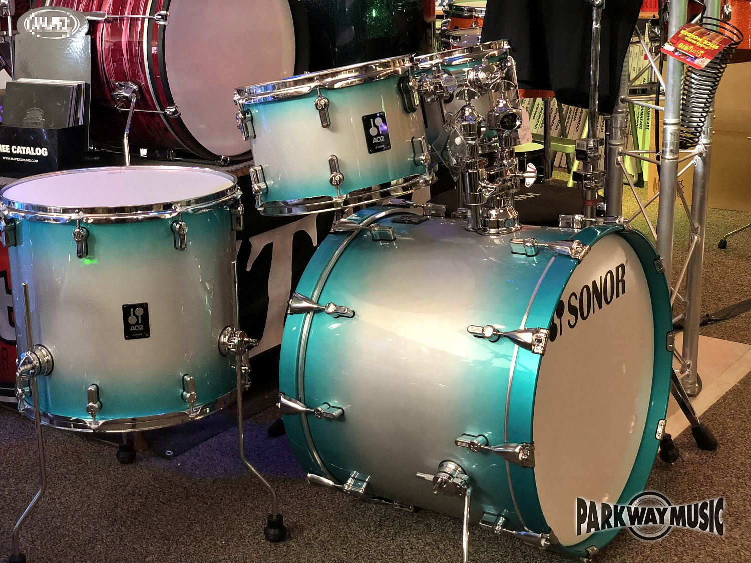 Sonor AQ2 5pc Drum Set