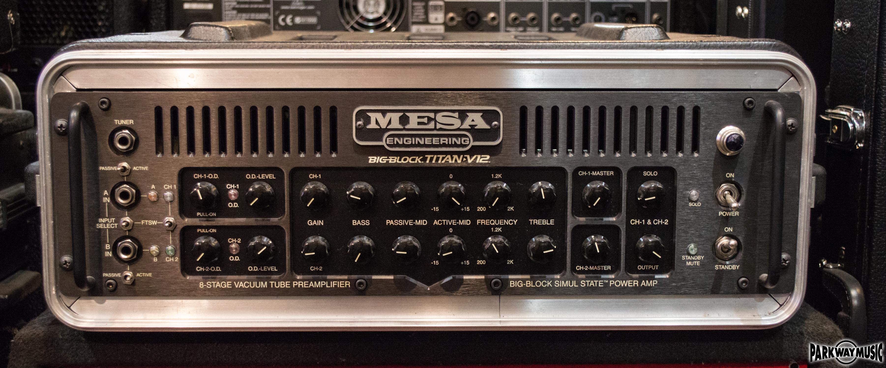 Mesa Boogie Big Block Titan V12 Head (USED)
