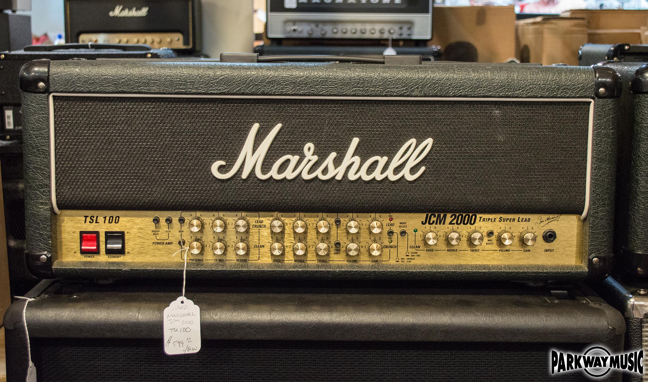 Marshall TSL100 Head (USED)