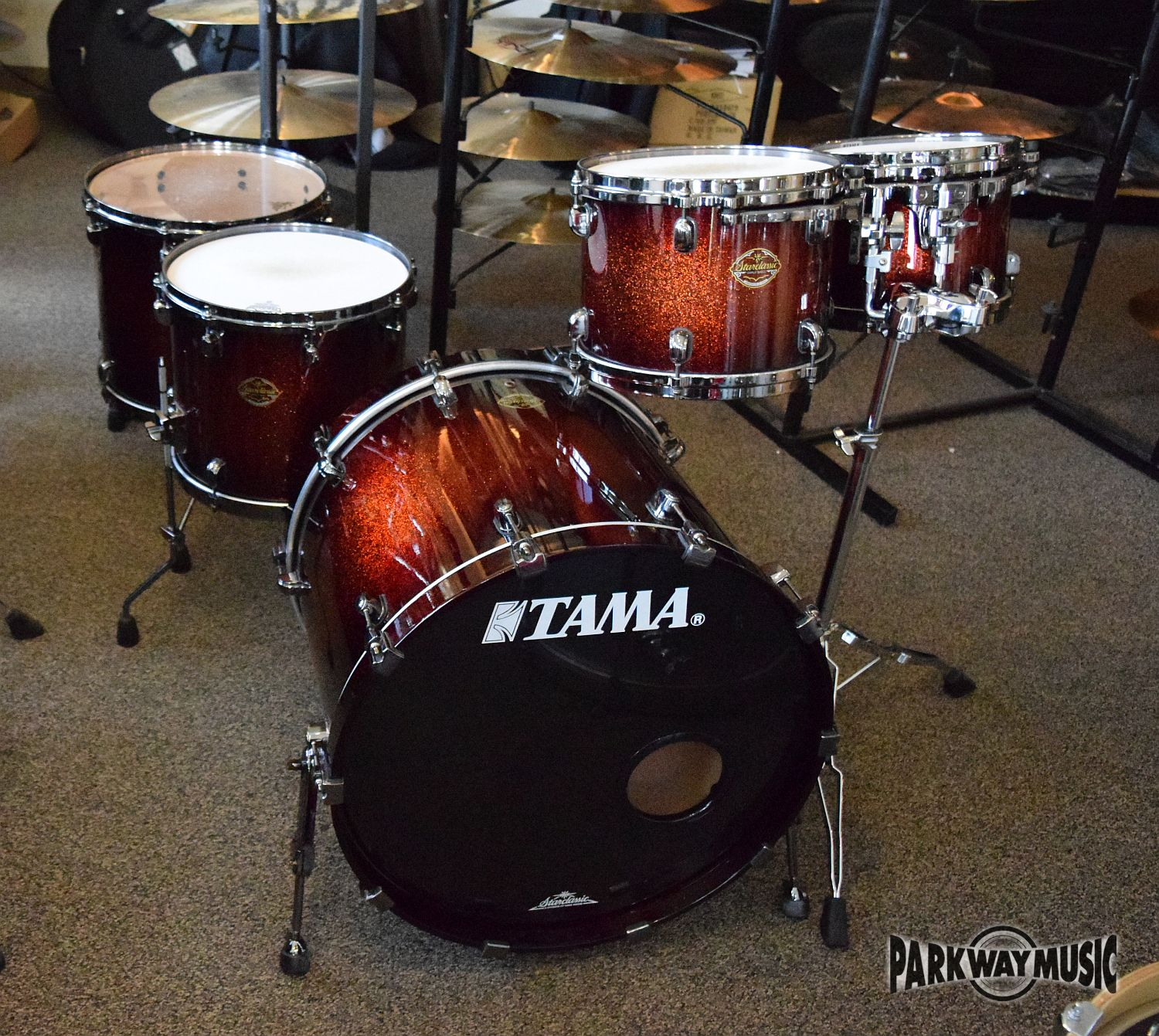 Tama Starclassic Maple 5pc Drum Set (USED) - SOLD