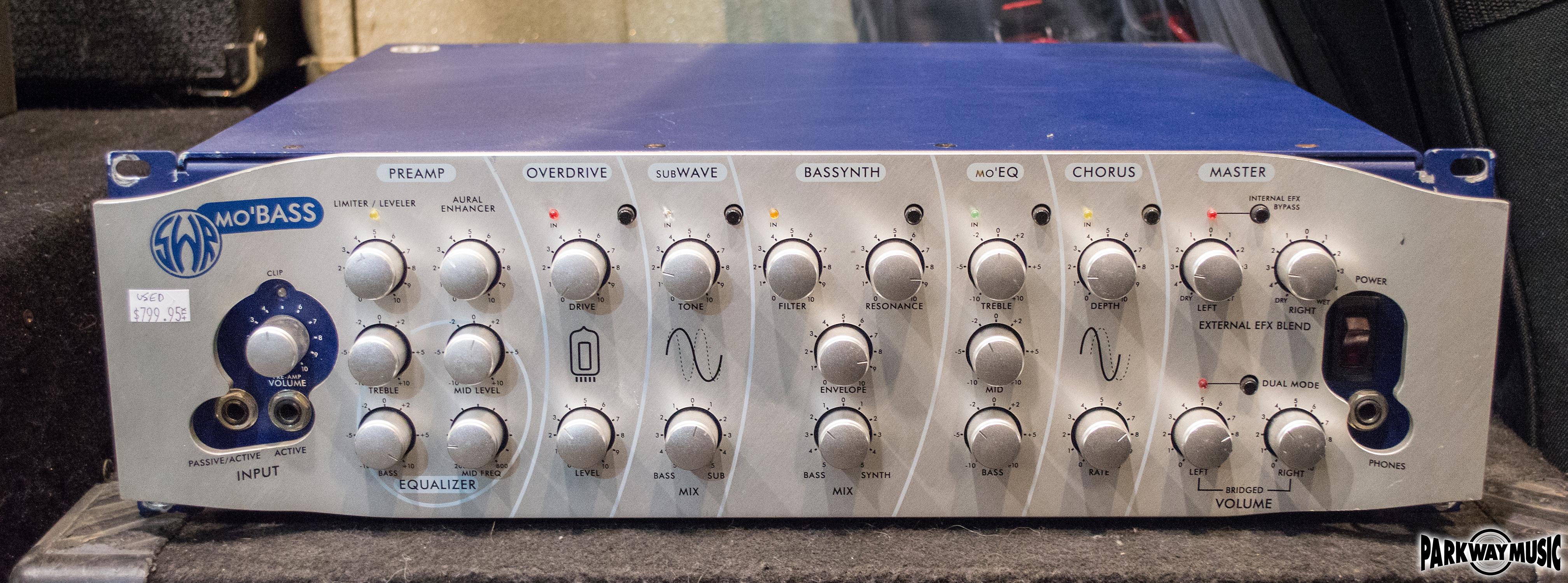 SWR Mo' Bass Head (USED)