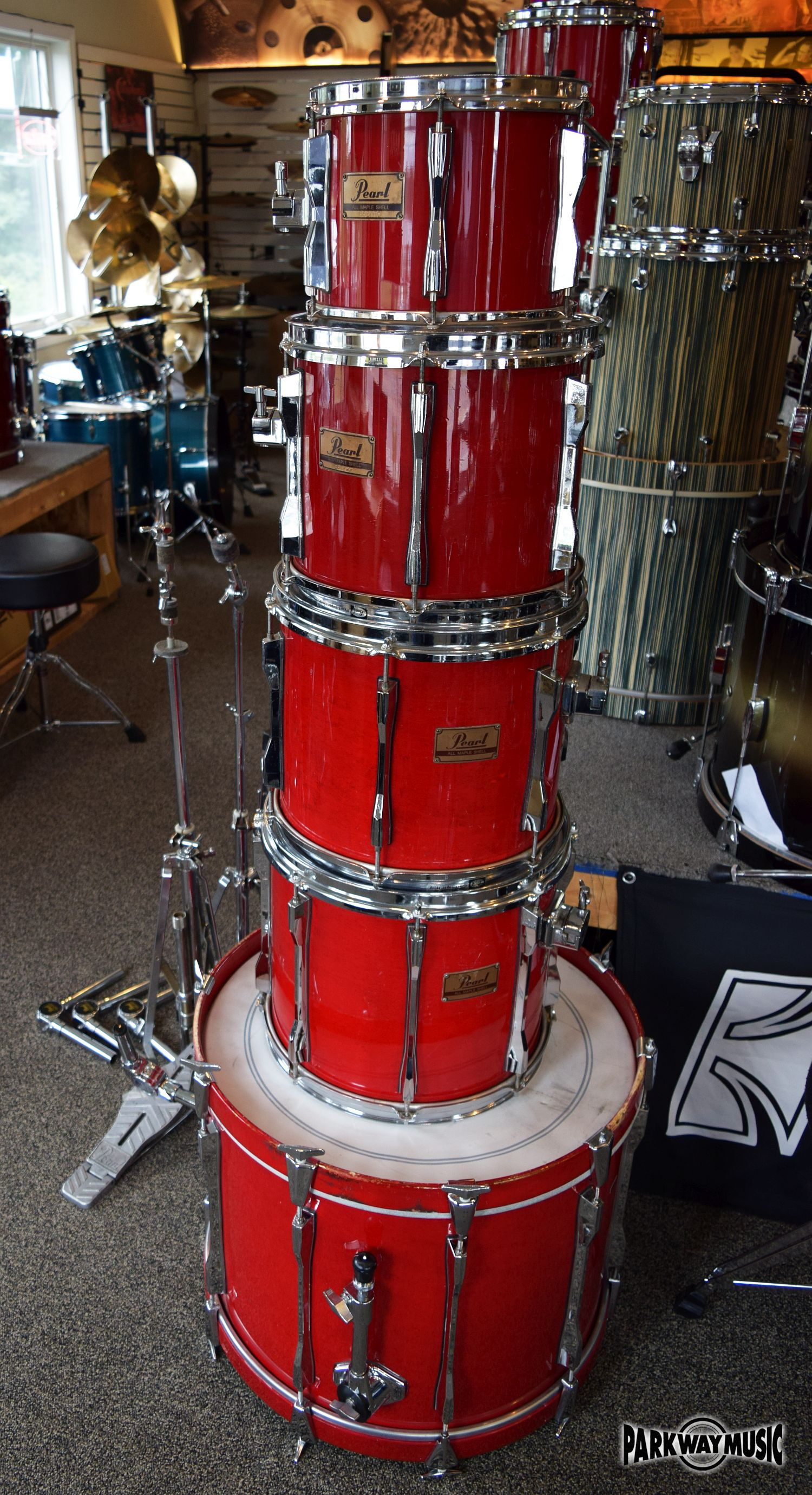 Pearl Maple 5pc Drum Set (USED) - SOLD