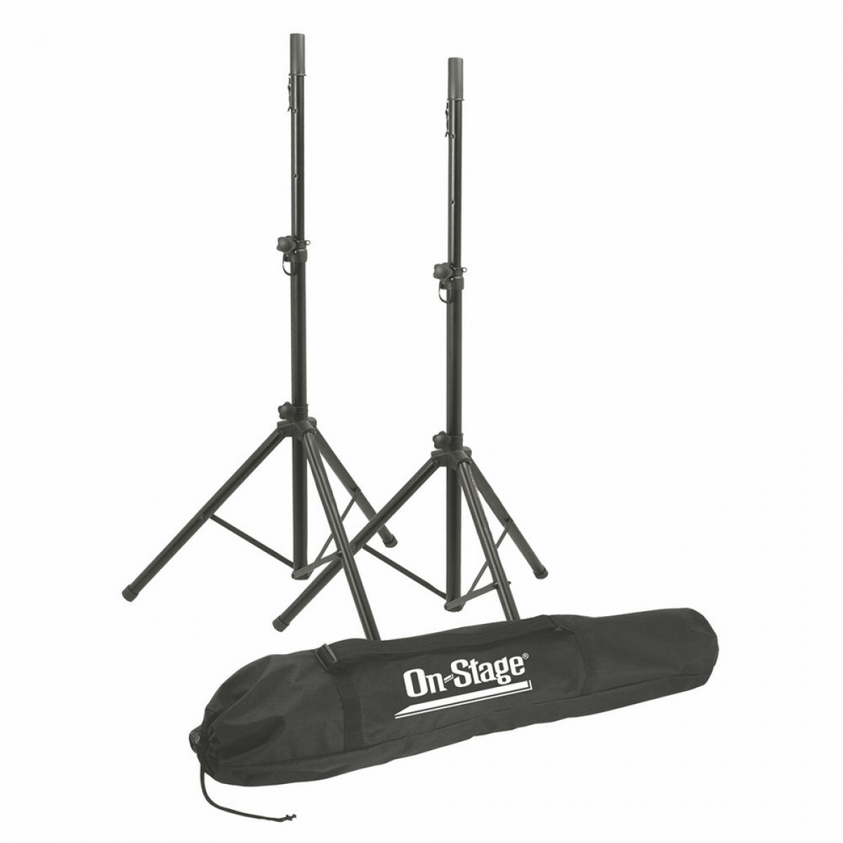 On Stage All-Aluminum Speaker Stand Pack