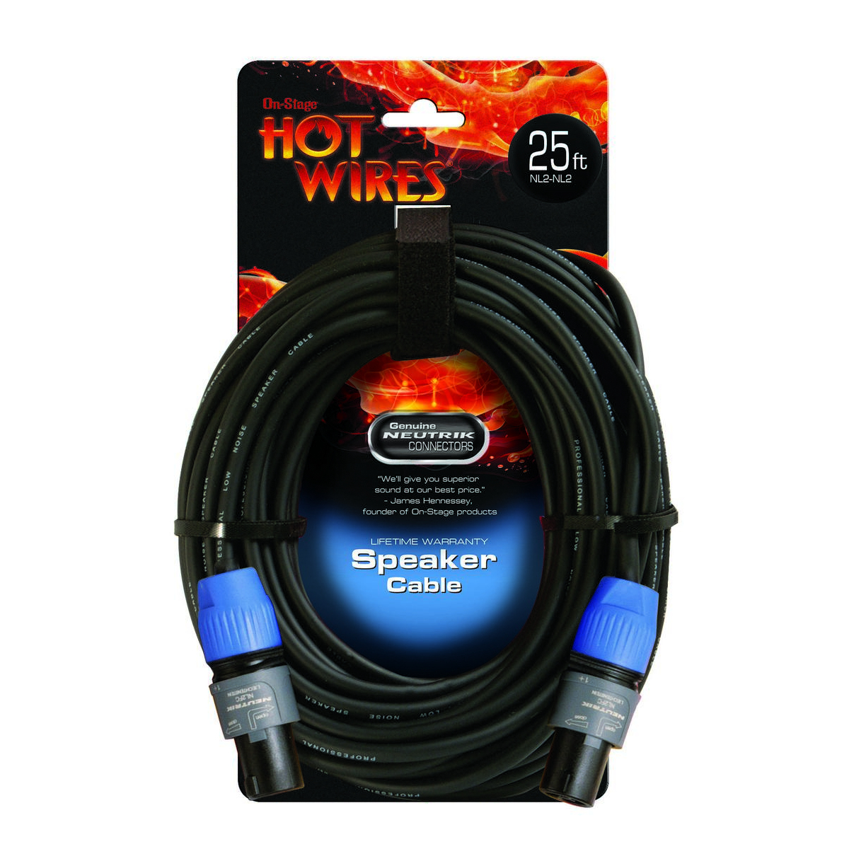 On Stage SP14-25SS Speaker Cable 25'