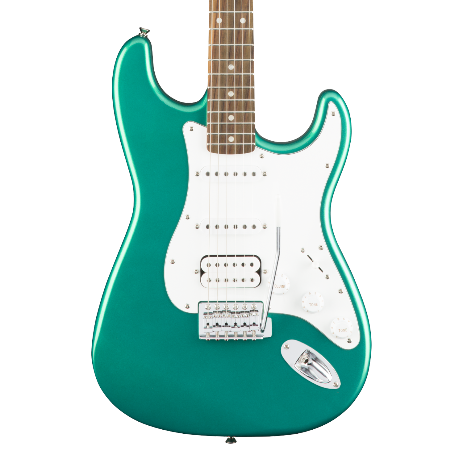 Squier Affinity Series Stratocaster HSS - Laurel Fingerboard, Race Green