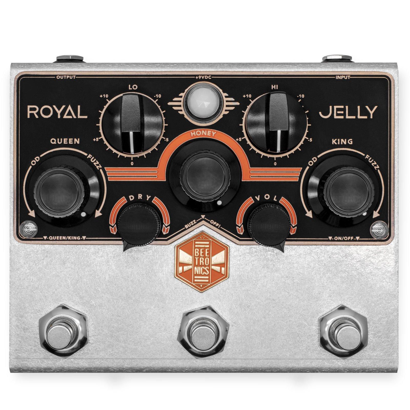 Beetronics Royal Jelly Fuzz/Overdrive Blender