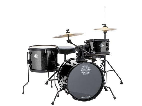 Ludwig Pocket Drum Set Black Sparkle