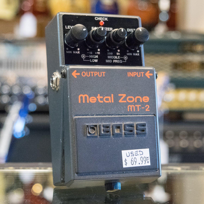 BOSS MT-2 Metal Zone (USED)