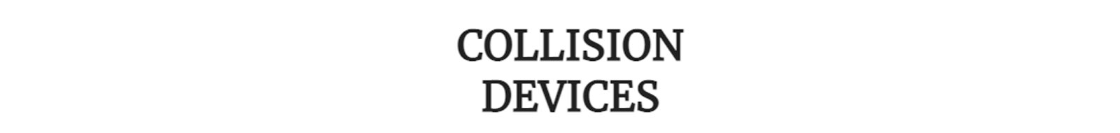 Collision Devices Effects