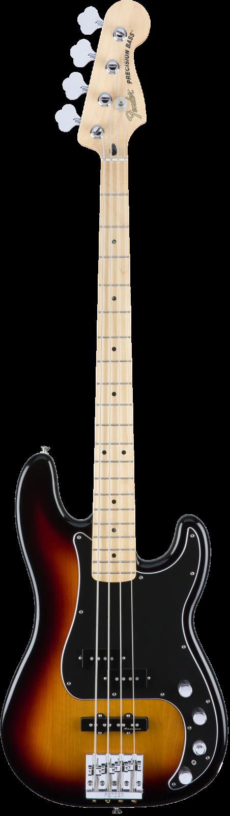 Fender Deluxe Active Precision Bass Special - Maple Fingerboard, 3-Color Sunburst