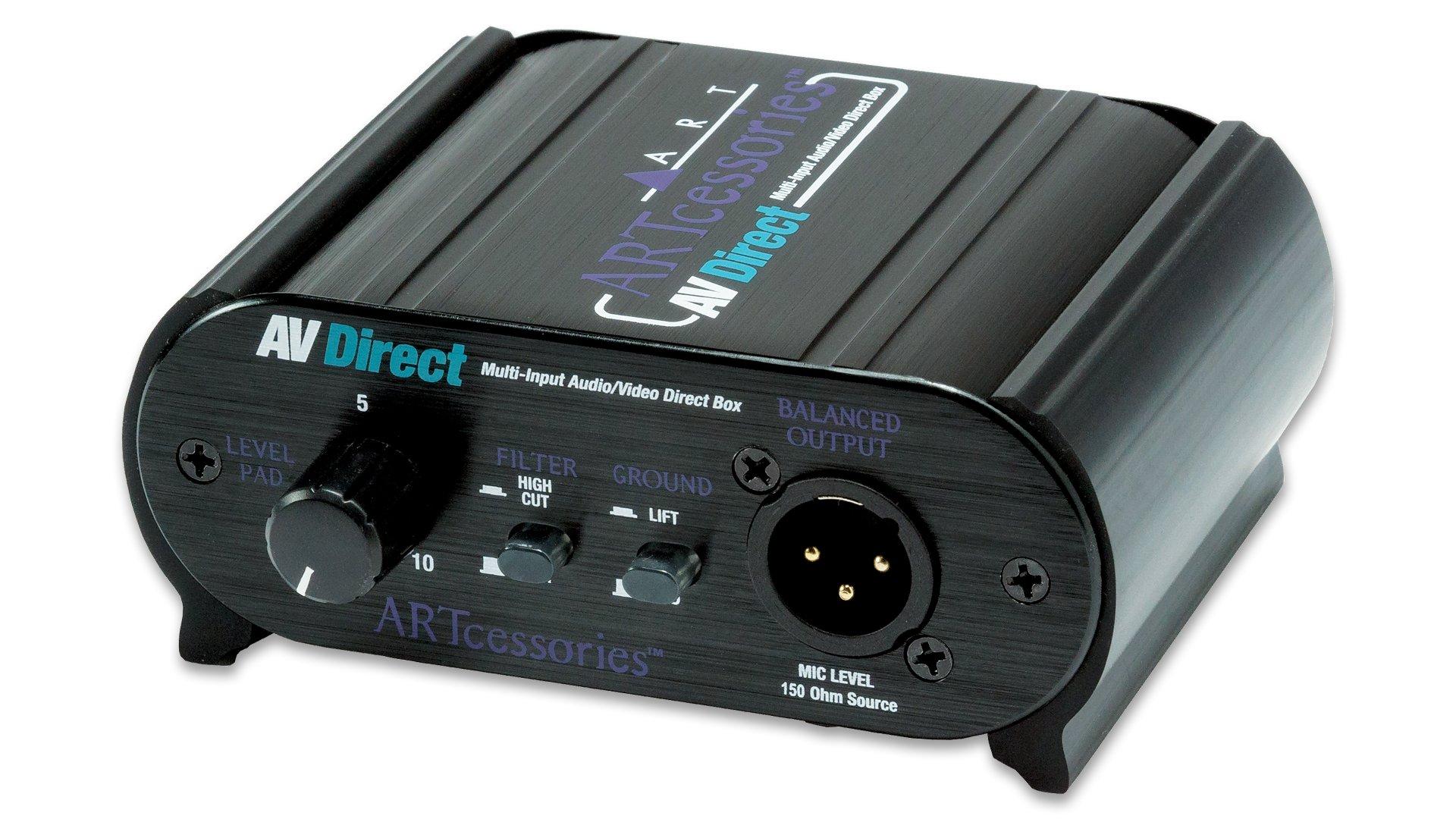 ART AV Direct Audio/Video Direct Box