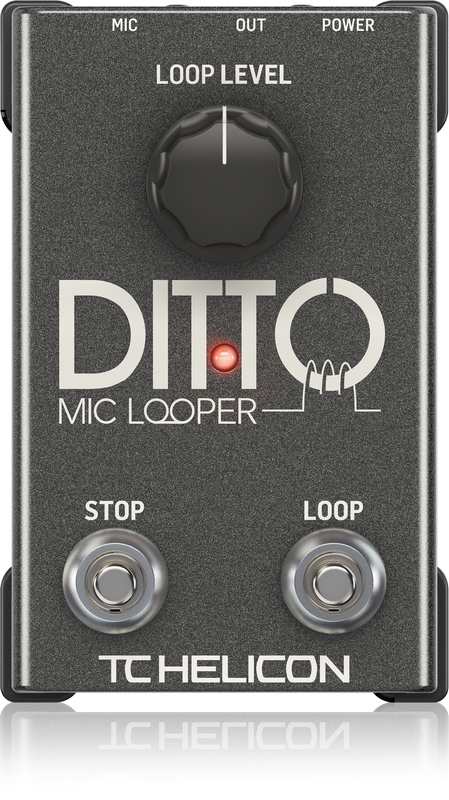 TC Helicon Ditto Mic Lopper (USED)