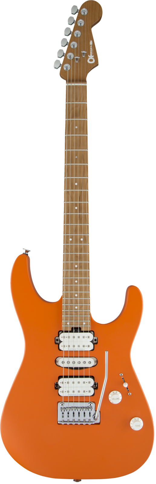 Charvel Pro-Mod DK24 HSH - Satin Orange Crush