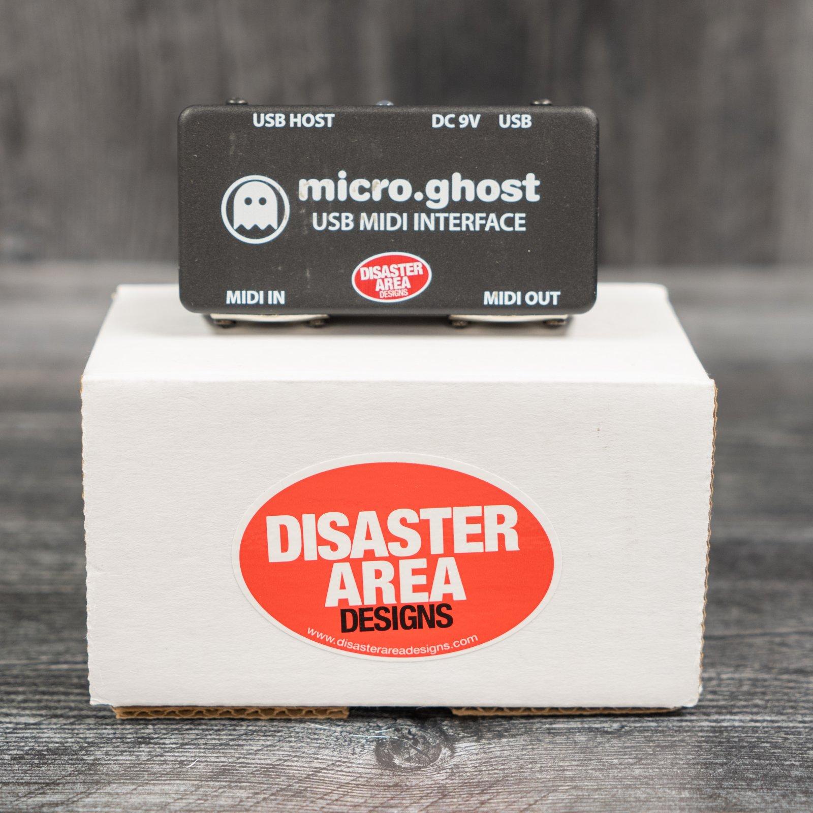 Disaster Area Designs Micro Ghost USB MIDI Interface (USED)