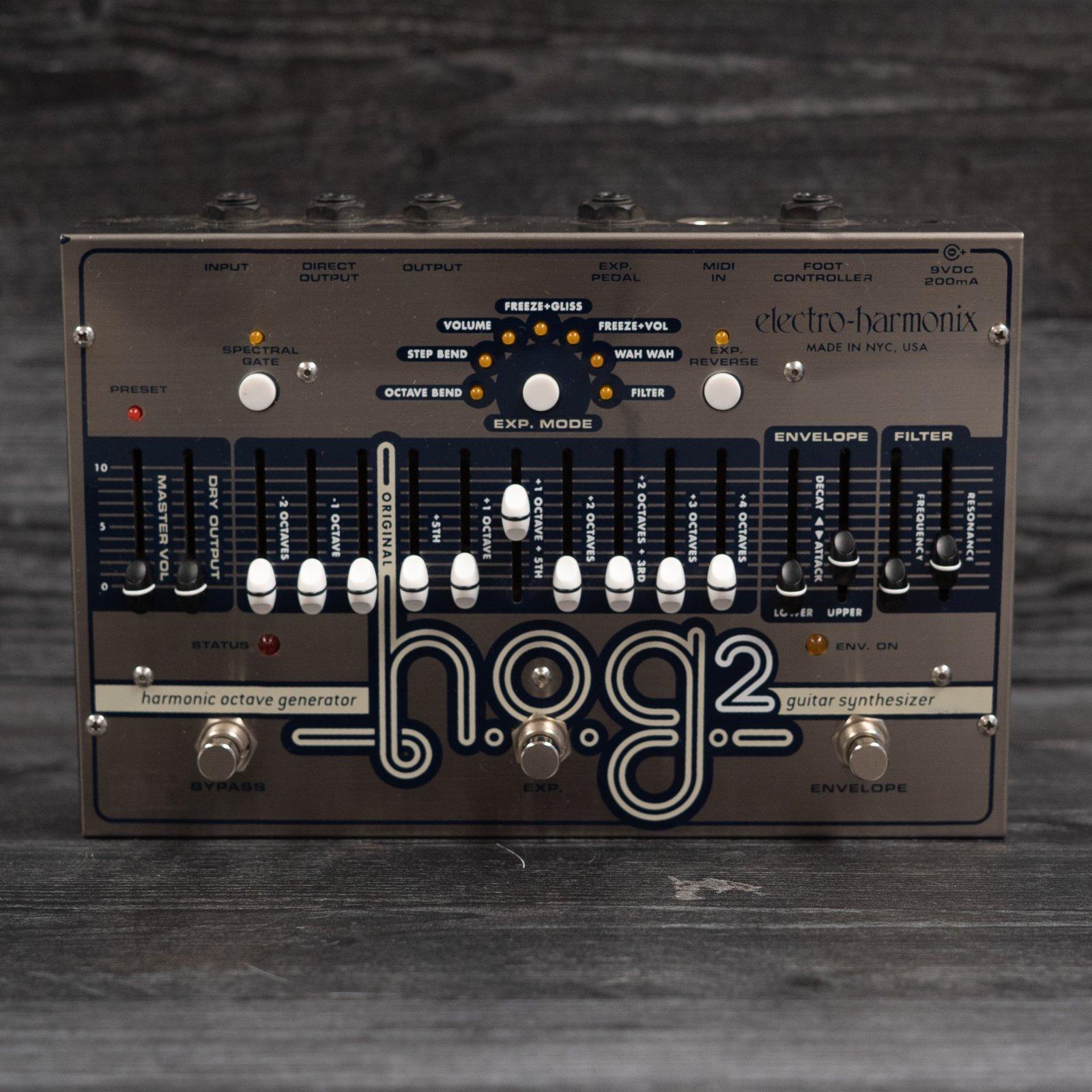 Electro-Harmonix HOG 2 Harmonic Octave Generator (NOS)