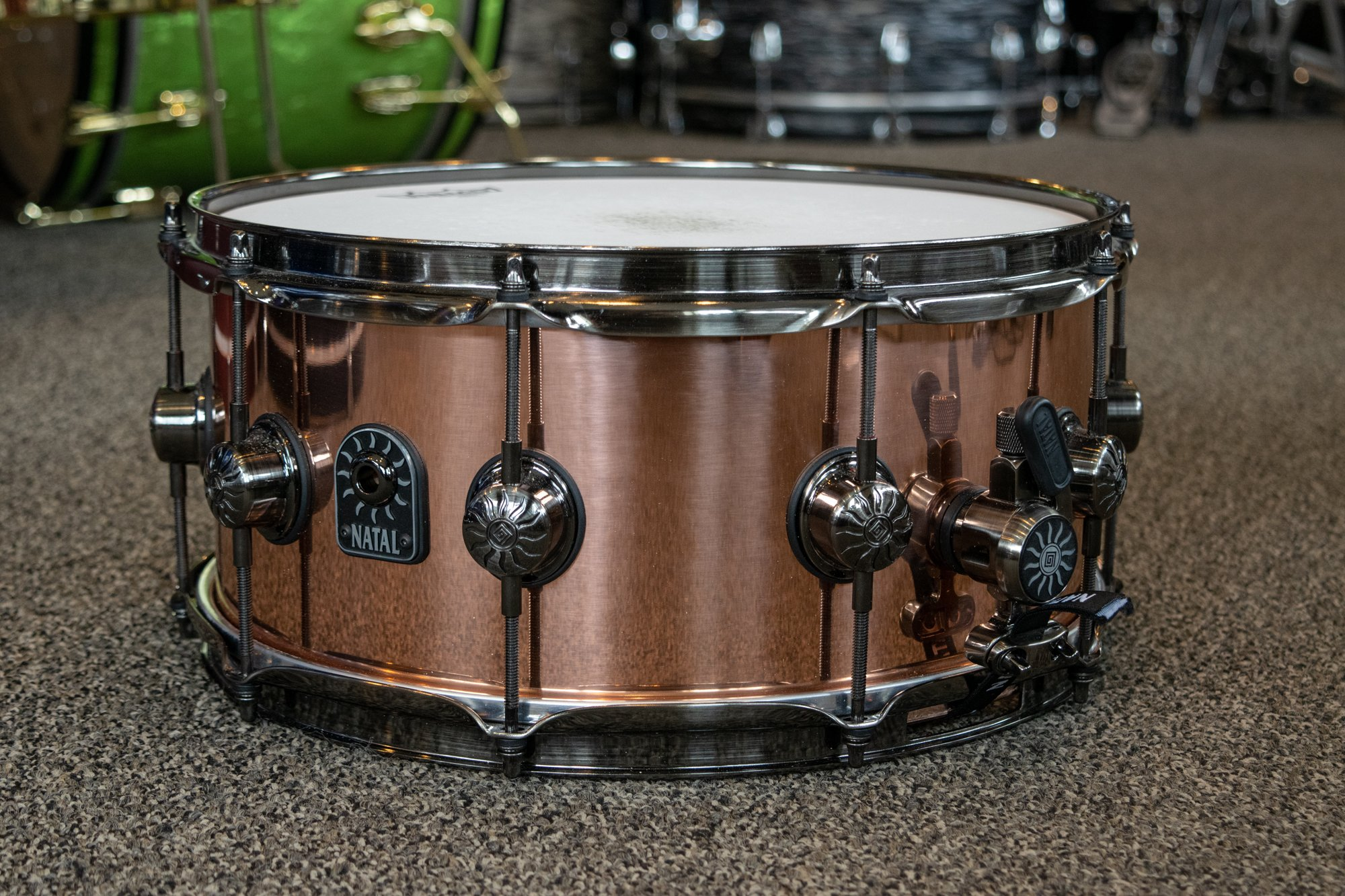 Natal Drums Meta Snare 14 x 6.5 in. Dark Copper (USED)