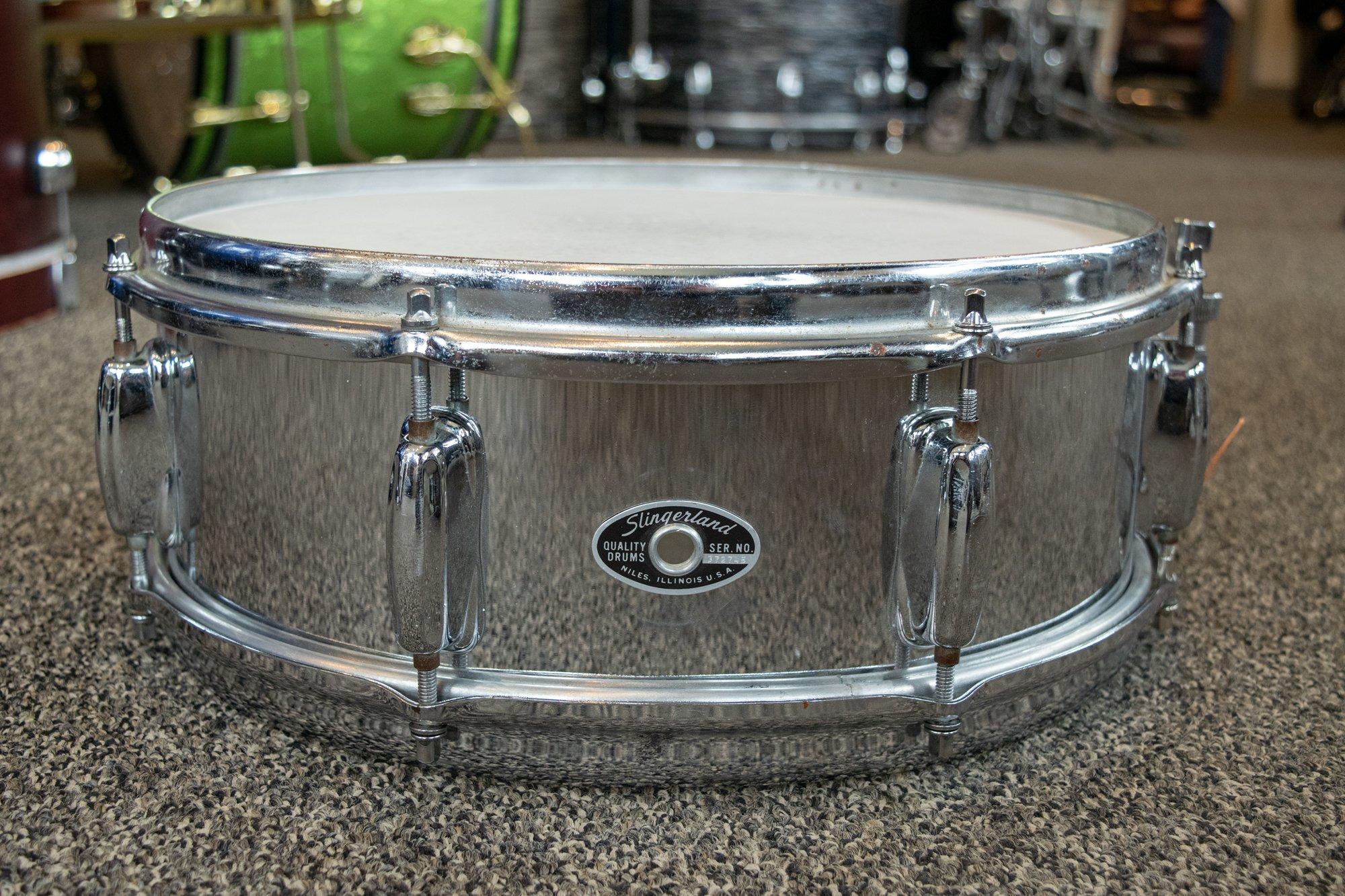 Slingerland 5 x 14 Steel Shell Snare Drum (USED)