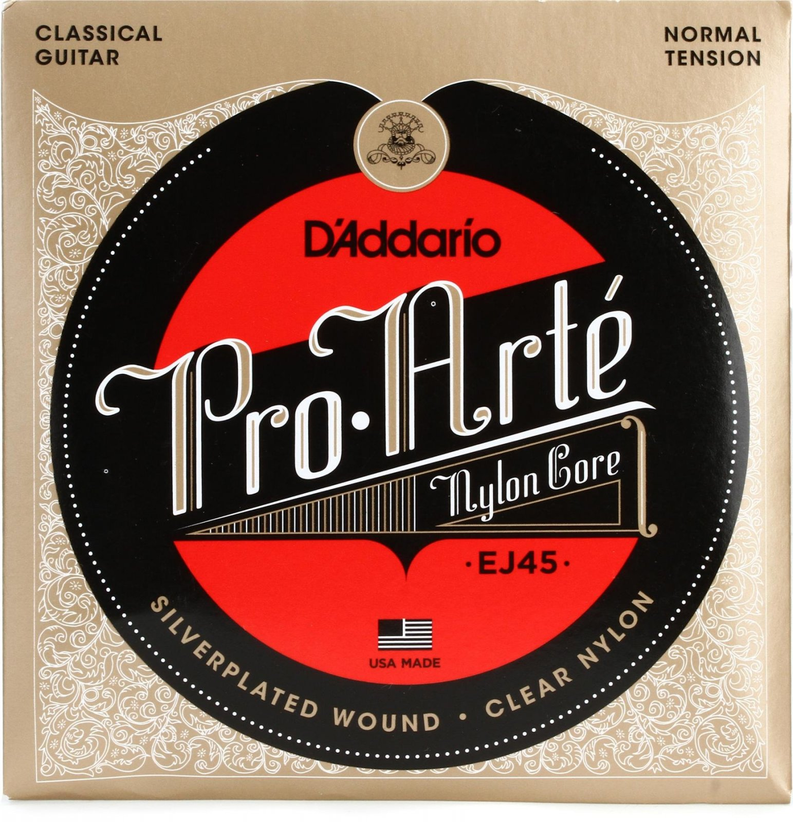 D'Addario EJ45 Pro-Arte Nylon - Normal Tension