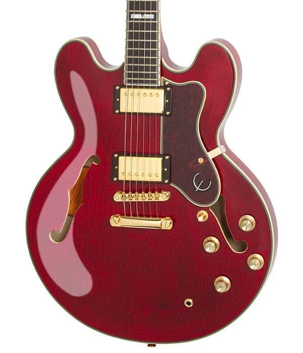 Epiphone Sheraton-II Pro - Wine Red