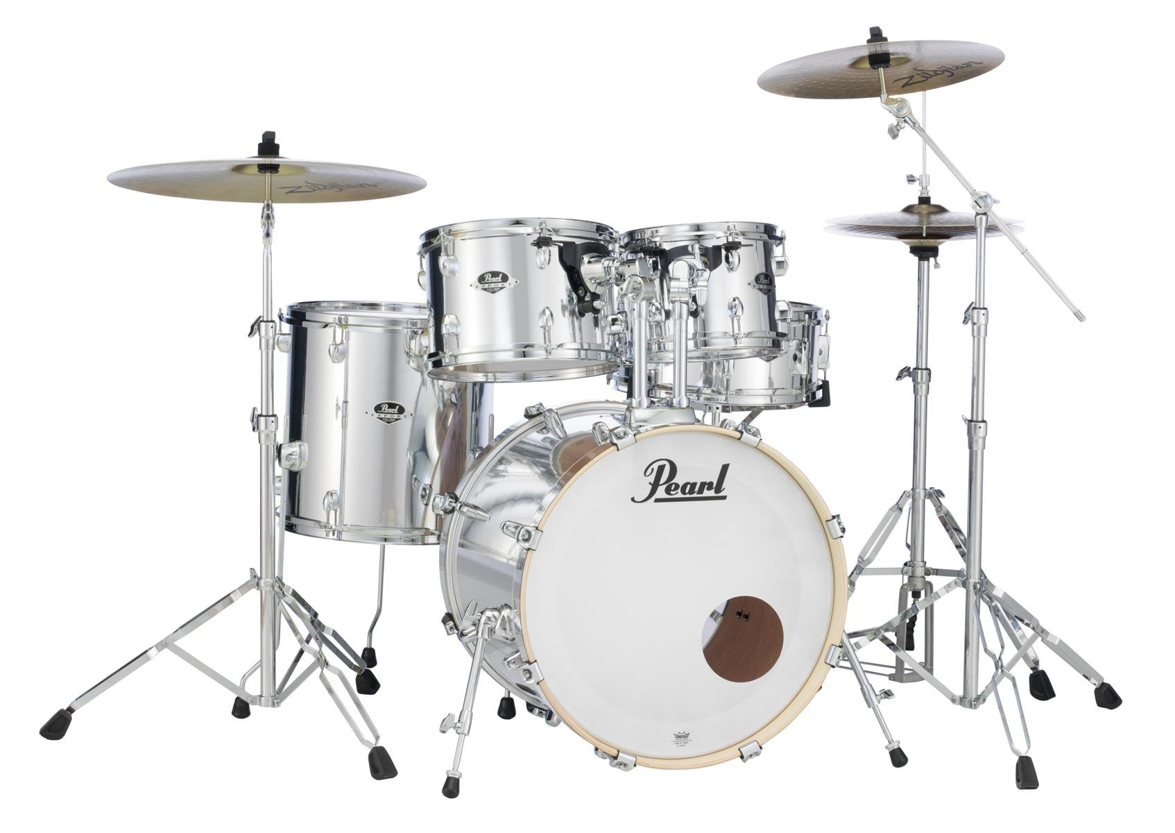 Pearl Export 5pc Fusion W Hardware - Mirror Chrome