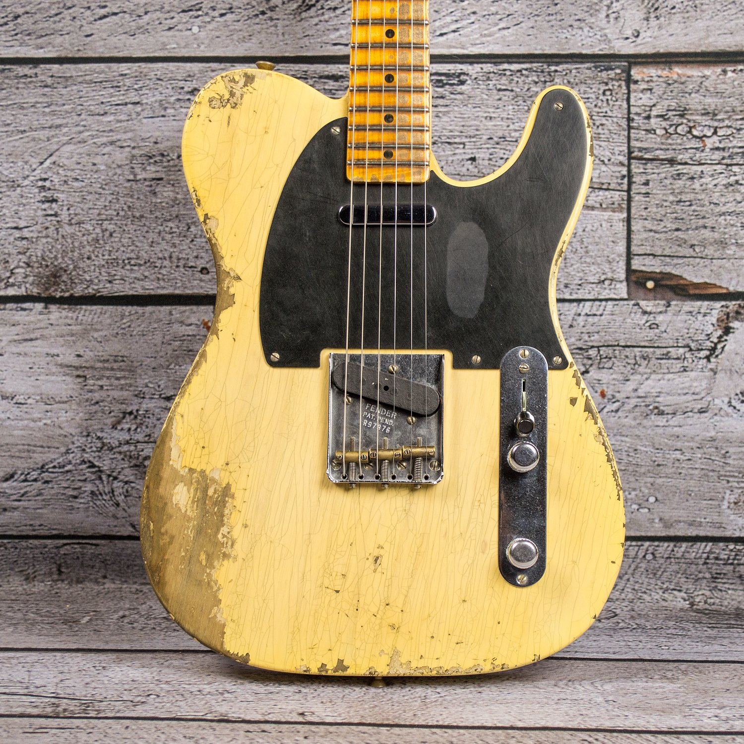 Fender 1951 Heavy Relic Custom Shop Nocaster - Faded Blonde
