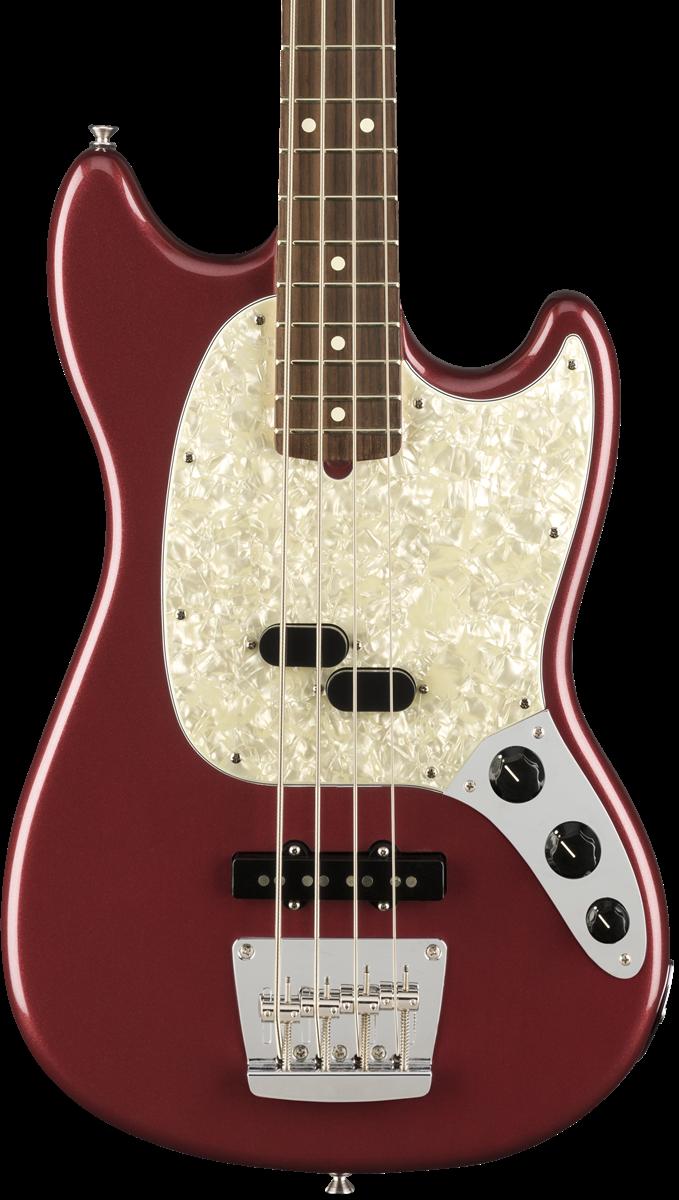 Fender American Performer Mustang Bass - Aubergine - HOLD