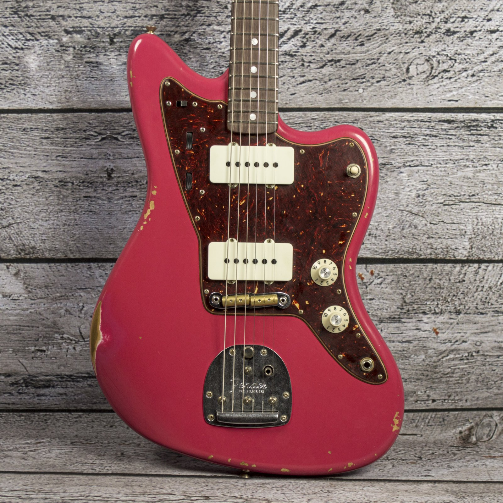 Fender Custom Shop 1965 Jazzmaster Relic - Aged Dakota Red