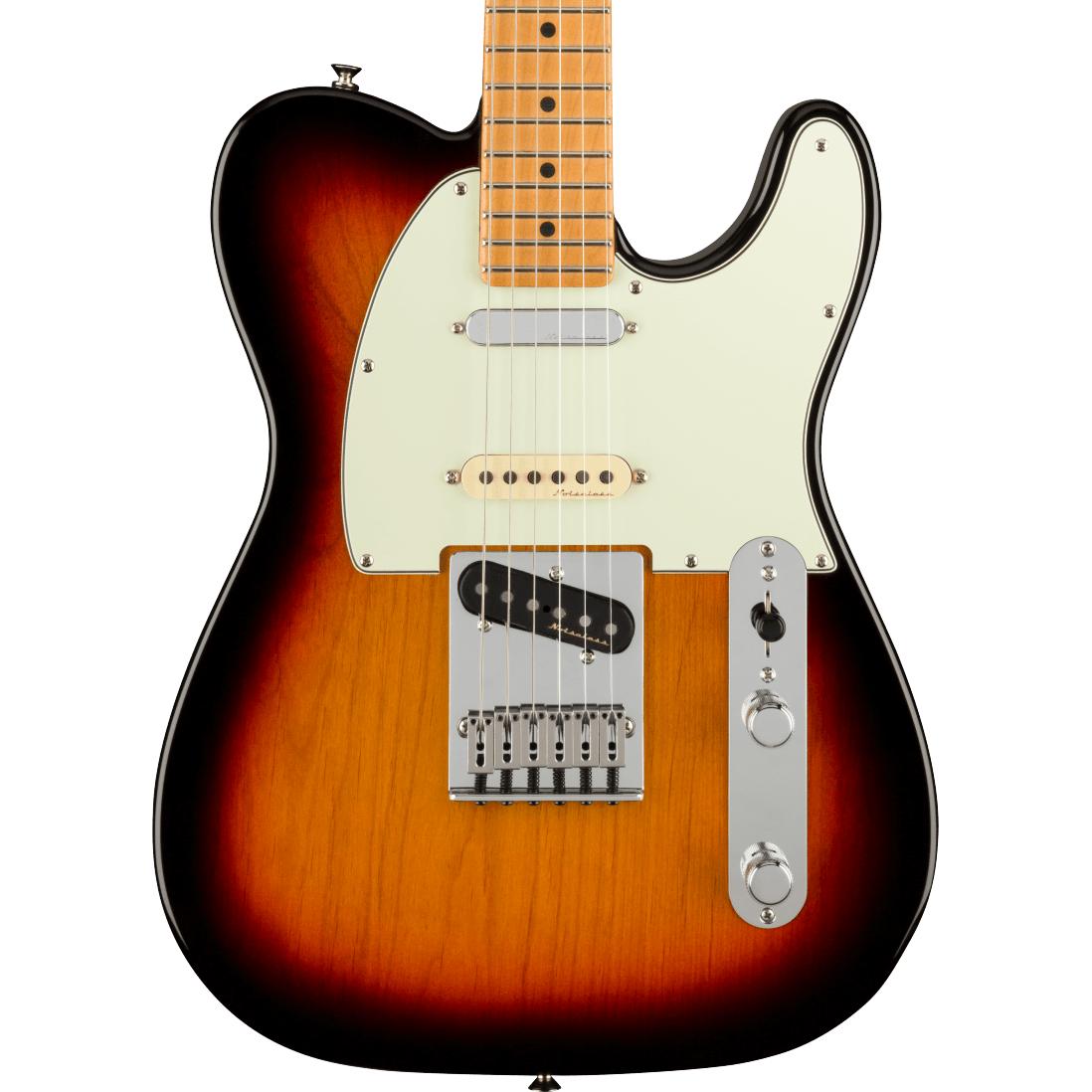 Fender Player Plus Nashville Telecaster - Maple Fingerboard, 3-Color Sunburst