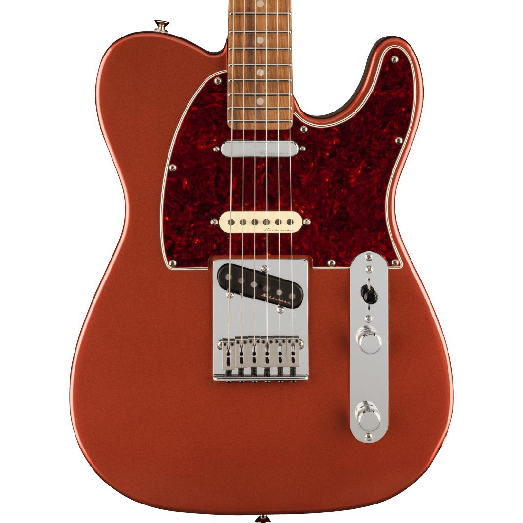 Fender Player Plus Nashville Telecaster - Pau Ferro Fingerboard, Aged Candy Apple Red