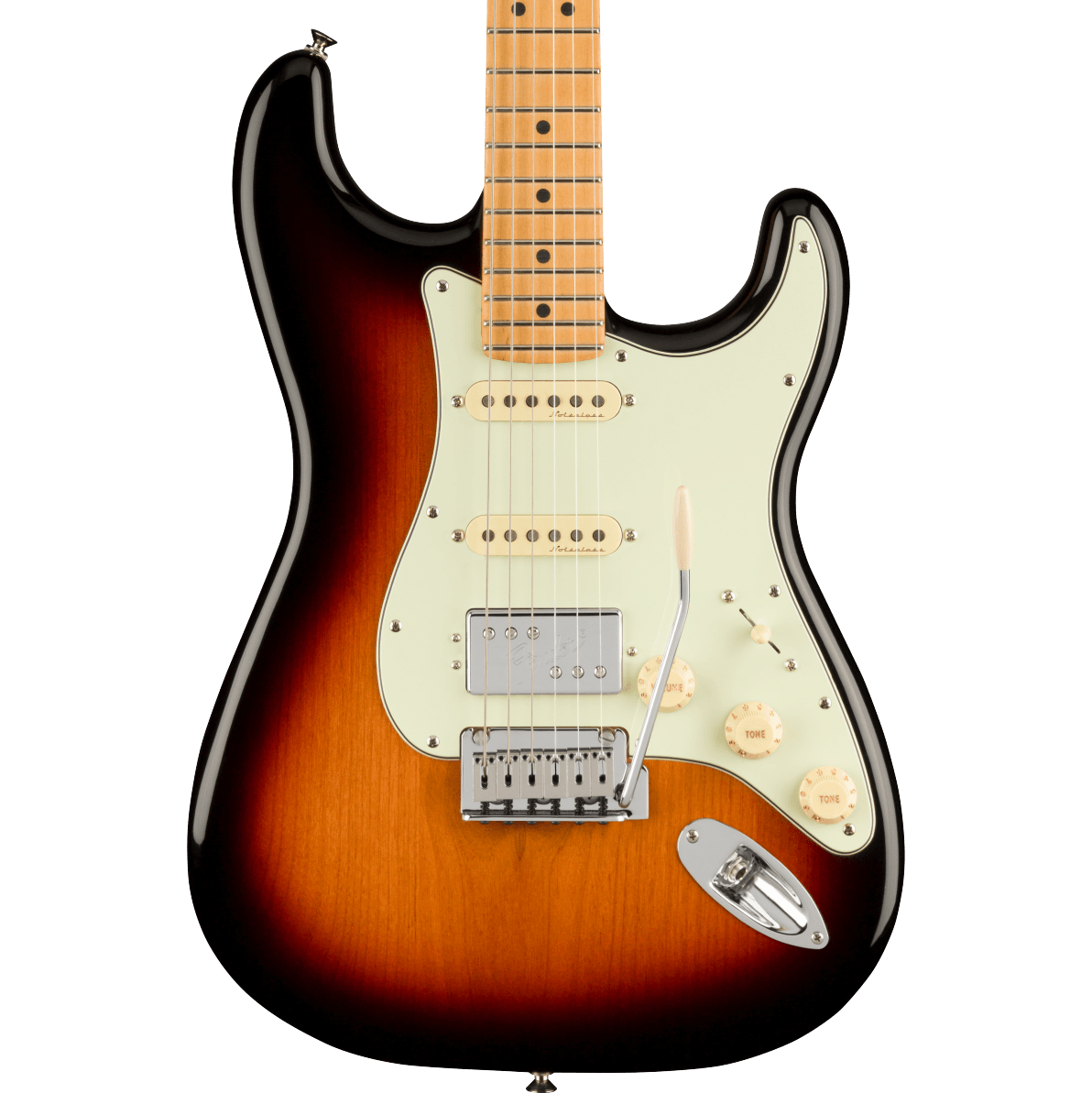 Fender Player Plus Stratocaster HSS - Maple Fingerboard, 3-Color Sunburst