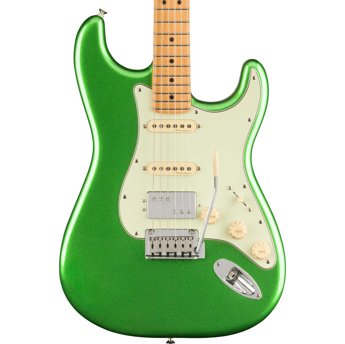 Fender Player Plus Stratocaster HSS - Maple Fingerboard, Cosmic Jade