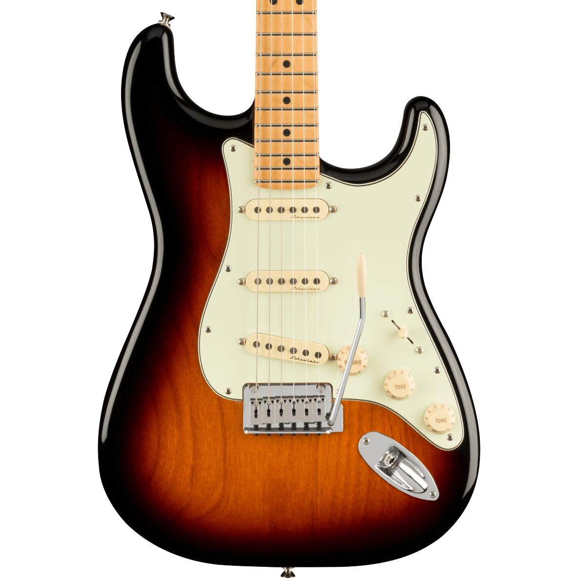 Fender Player Plus Stratocaster - Maple Fingerboard, 3-Color Sunburst