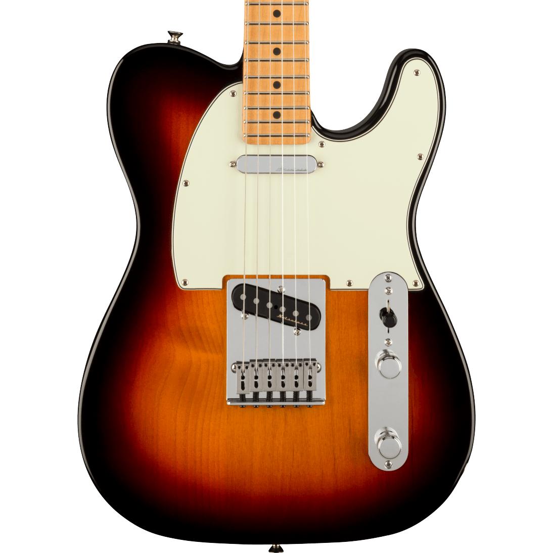 Fender Player Plus Telecaster - Maple Fingerboard, 3-Color Sunburst