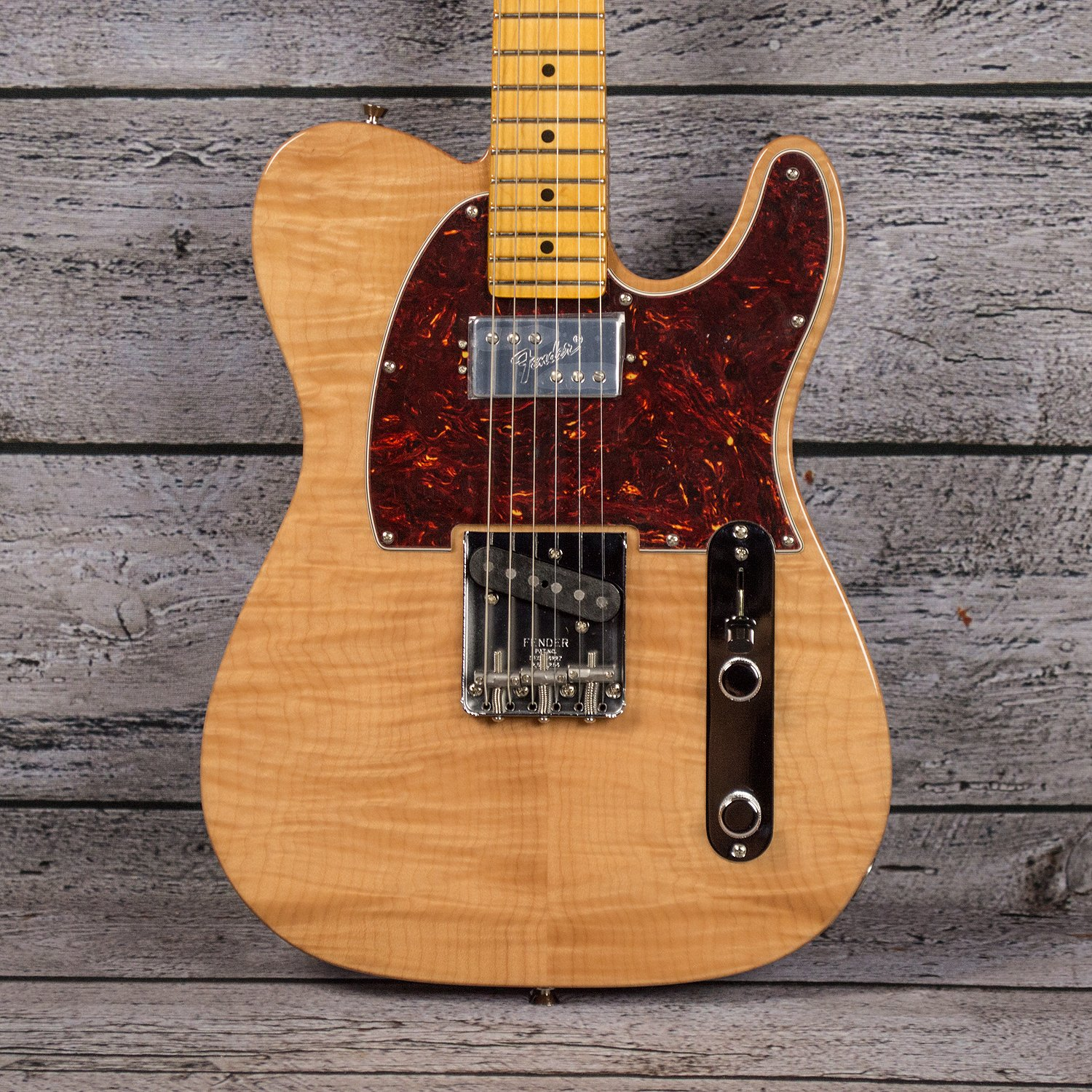Fender Rarities Chambered Telecaster Flame Maple Top - Natural