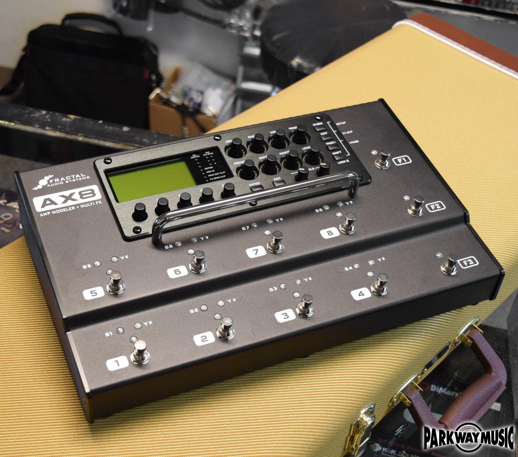 Fractal Audio AX8 Amp Modeler + Multi FX (USED)