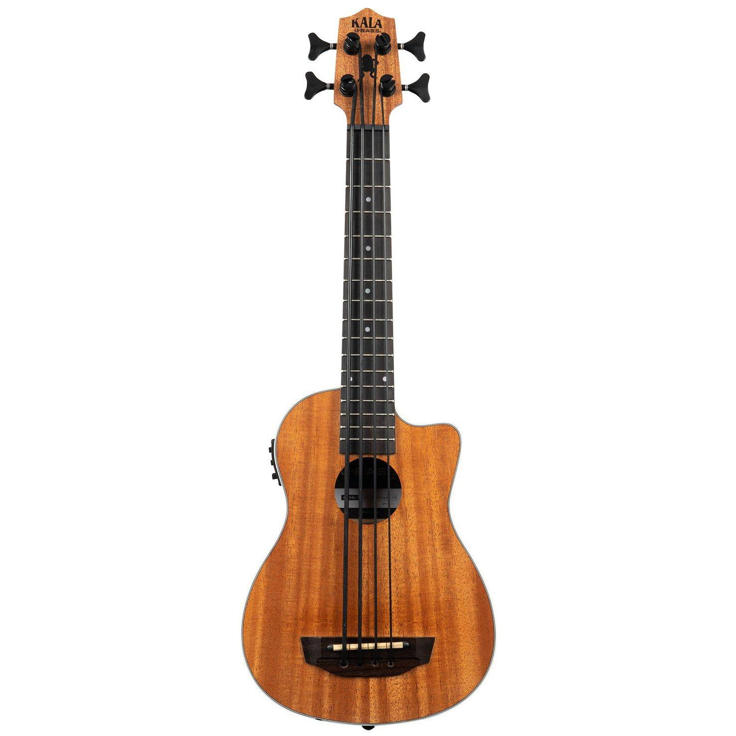 Kala Scout Mahogany Acoustic-Electric U-BASS w/ Cutaway