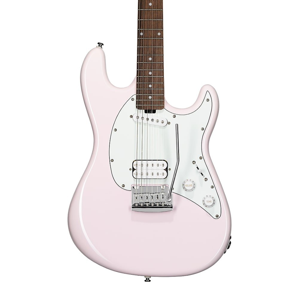 Sterling by Music Man Short Scale Cutlass - Shell Pink