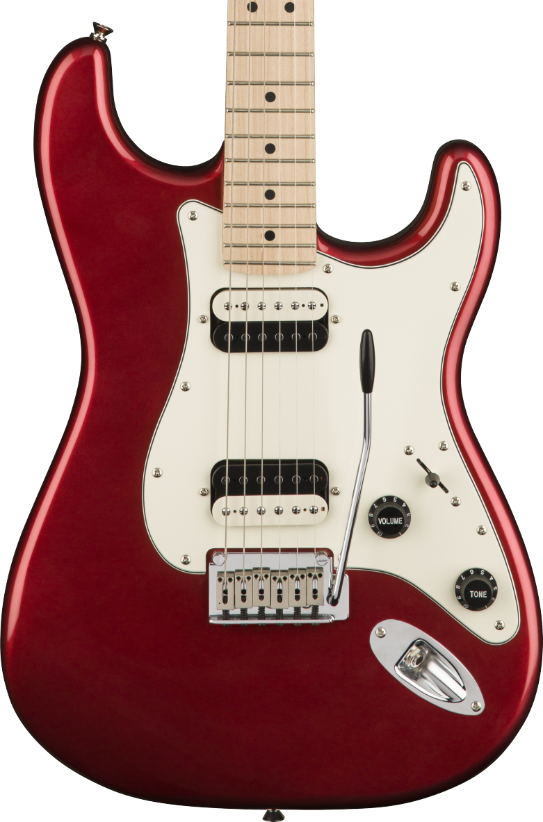 Squier Contemporary Stratocaster HH - Dark Metallic Red