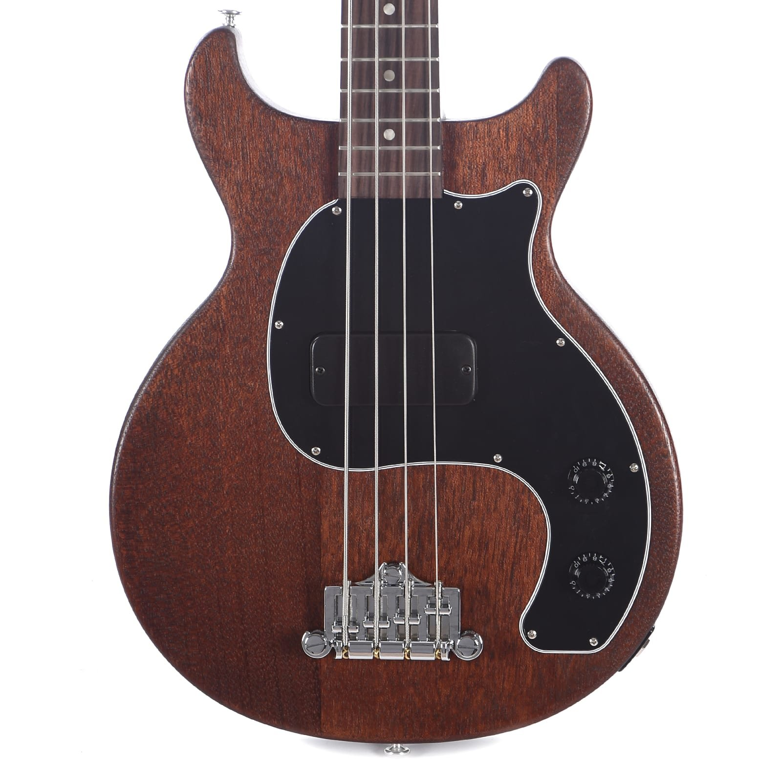 Gibson Les Paul Junior Tribute DC Bass - Worn Brown (DEMO)