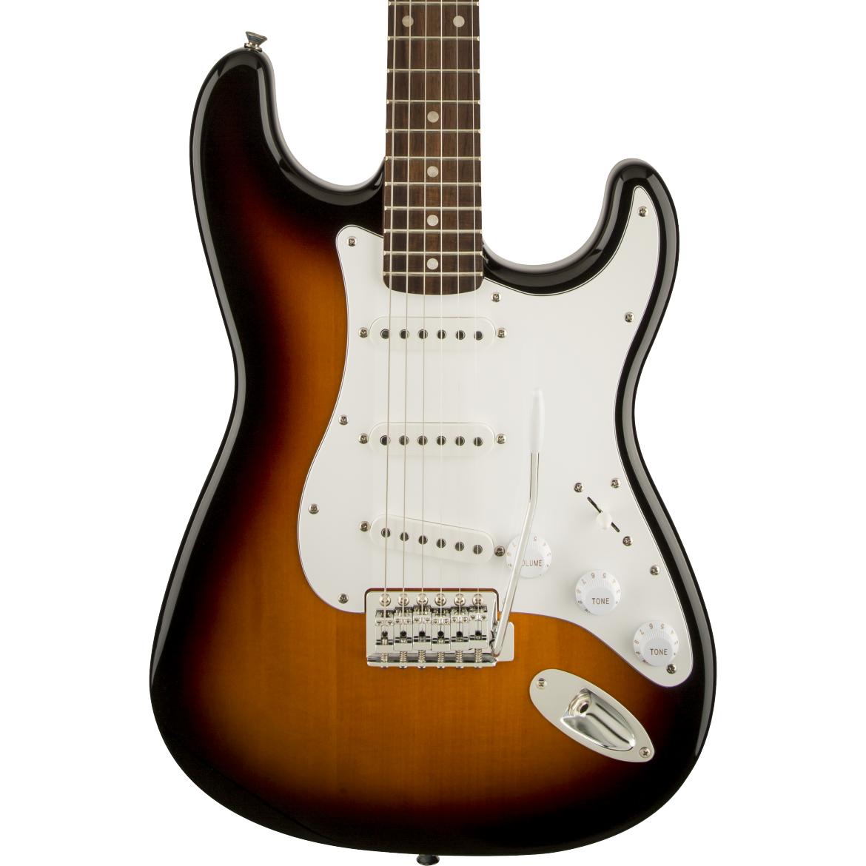 Squier Affinity Series Stratocaster - Laurel Fingerboard, Brown Sunburst