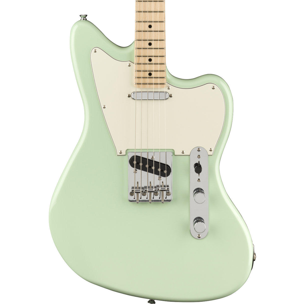 Squier Paranormal Offset Telecaster - Maple Fingerboard, Surf Green