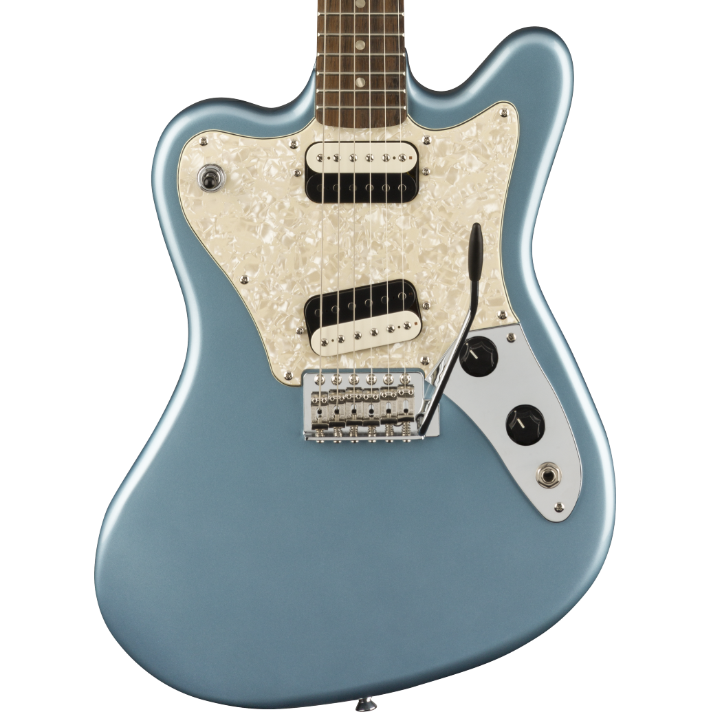 Squier  Paranormal Super-Sonic - Laurel Fingerboard, Ice Blue Metallic