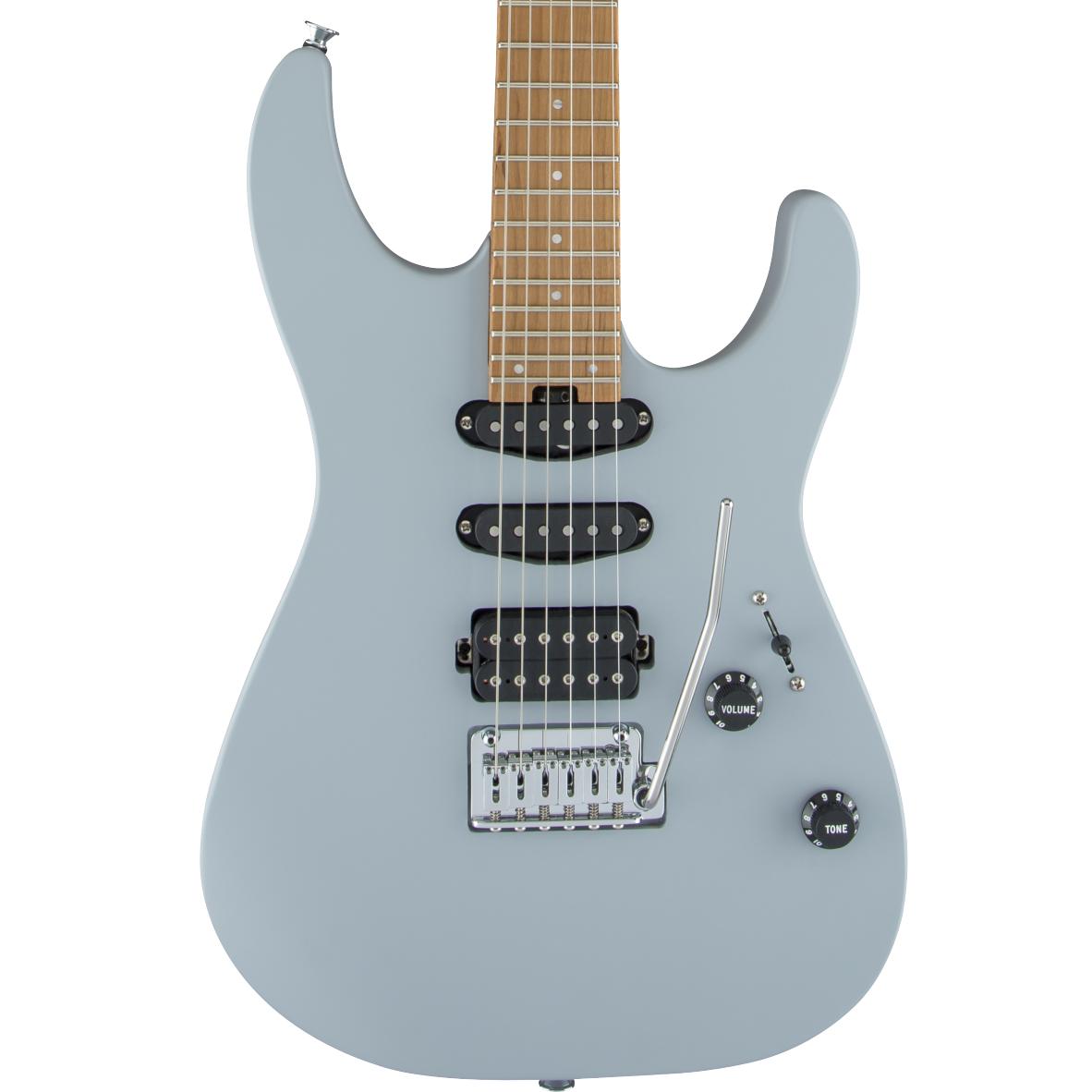 Charvel Pro-Mod DK24 HSS 2PT CM - Caramelized Maple Fingerboard, Primer Gray