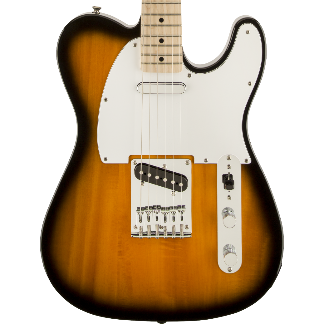 Squier Affinity Series Telecaster - Maple Fingerboard, 2-Color Sunburst