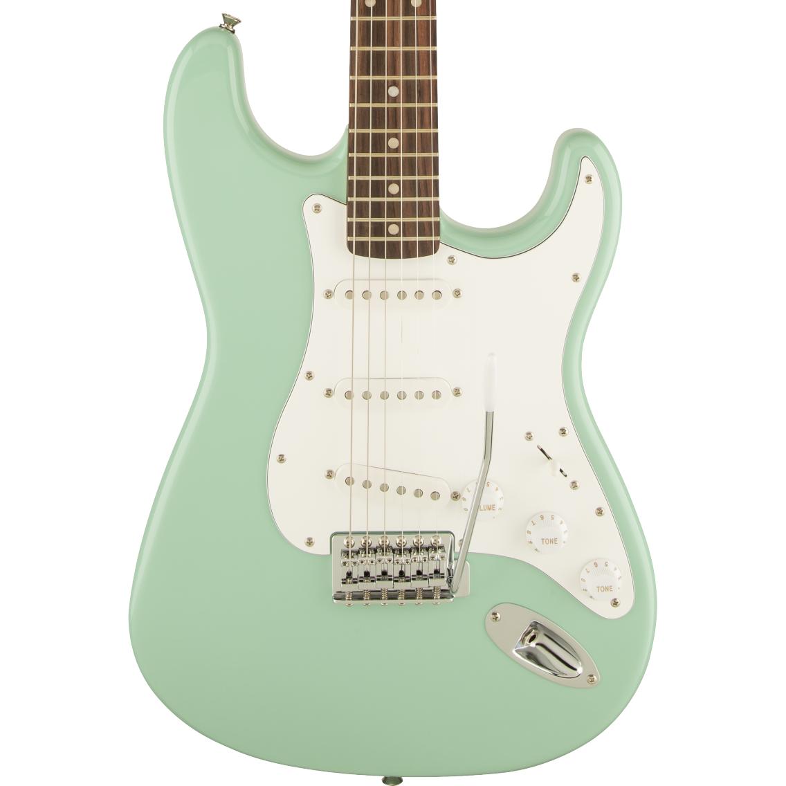 Squier Affinity Series Stratocaster - Laurel Fingerboard, Surf Green