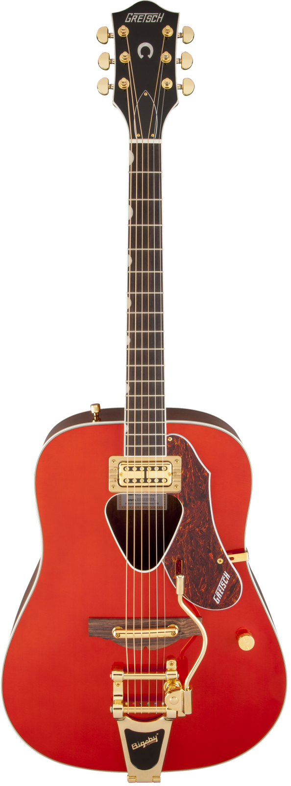 Gretsch G5034TFT Rancher Dreadnought with Bigsby - Rosewood Fingerboard, Savannah Sunset