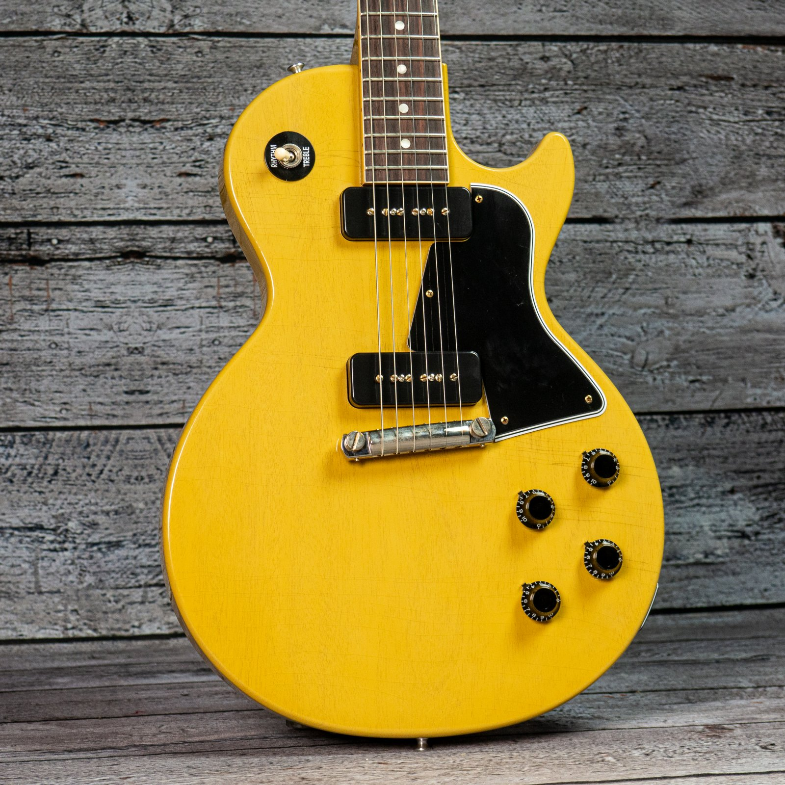 Gibson 1957 Les Paul Special Single Cut Reissue Murphy Lab Ultra Light Aged - TV Yellow